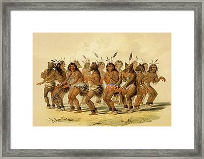 The Bear Dance Framed Print