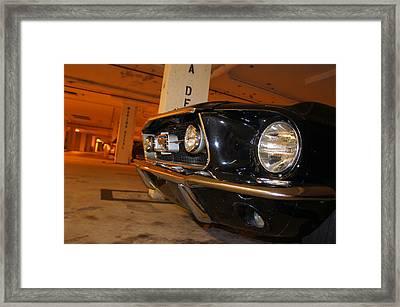 The Beast Framed Print by Jaron R