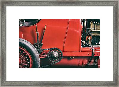 The Beast Of Turin Abstract Framed Print