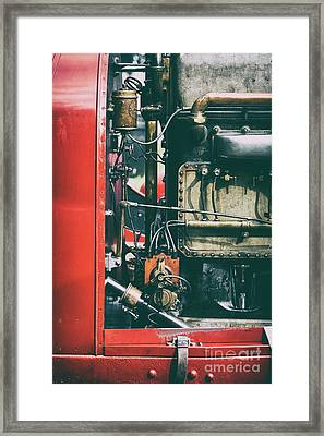The Beast Of Turin Engine Framed Print