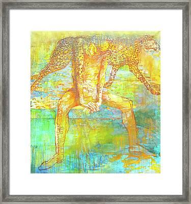 The Beast Framed Print by Tanya Ilyakhova