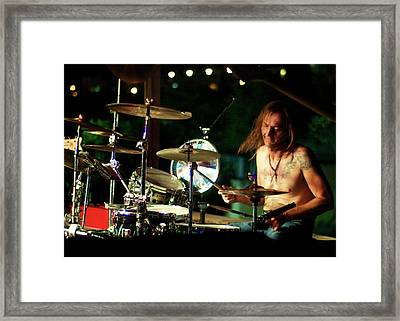 The Beat Framed Print by Michael Knight