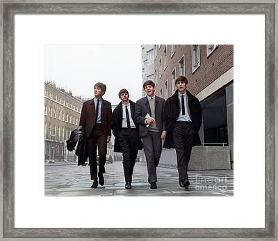 The Beatles 1963. Framed Print