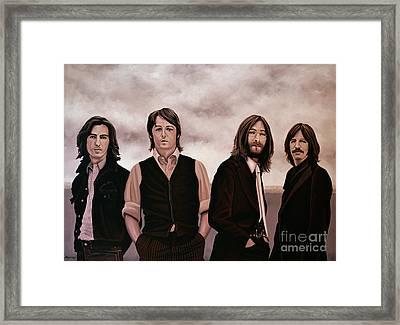 The Beatles 3 Framed Print