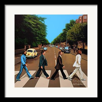 The Beatles. Celebrity Portraits Framed Prints
