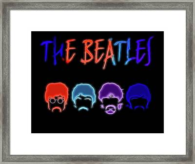 The Beatles Electric Poster Framed Print