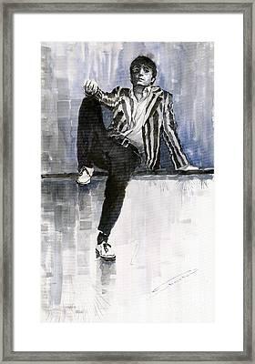 The Beatles John Lennon Reflection Framed Print