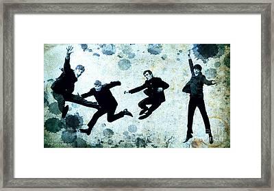 The Beatles Jump Framed Print