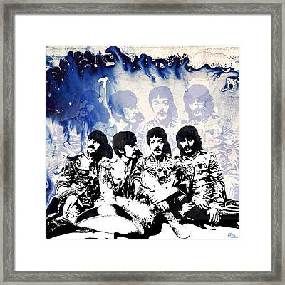 The Beatles Framed Print by Little Bunny Sunshine