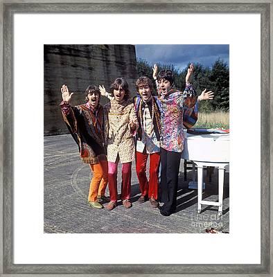 The Beatles - Magical Mystery Tour Framed Print