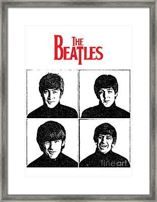 The Beatles No.12 Framed Print by Caio Caldas