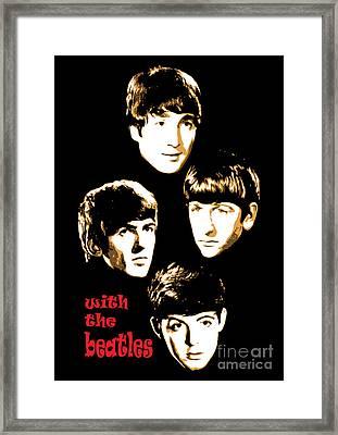The Beatles No.20 Framed Print by Caio Caldas