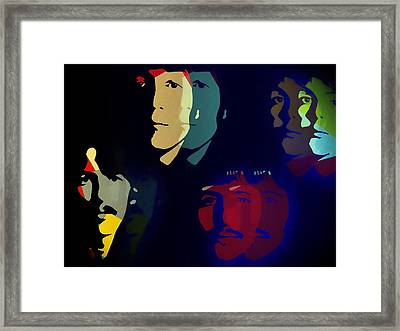 The Beatles Psychedelic Framed Print