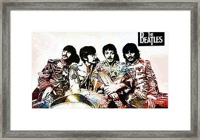 The Beatles--sargent Peppers Lonely Hearts Club Band Framed Print