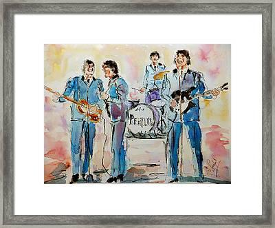 The Beatles Framed Print by Steven Ponsford