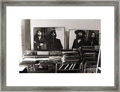 The Beatles Yesterday Framed Print by Anna Payne