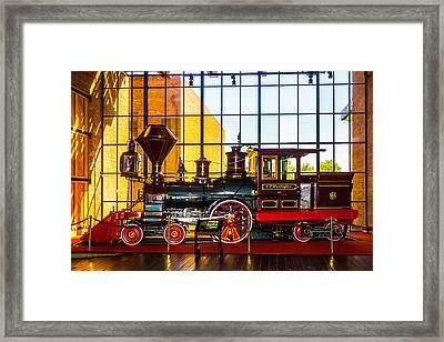 The Beautiful C.p. Huntingtn Train Framed Print by Garry Gay