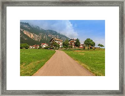 The Beautiful Dolomites Framed Print by Roy McPeak
