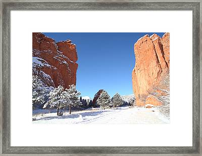 The Beautiful Gate Framed Print by Eric Glaser