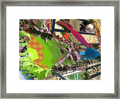 The Beautiful Memories Framed Print by Li Hunger