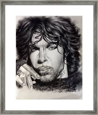 The Beautiful One Framed Print