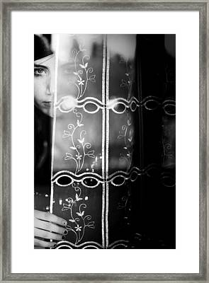 The Beautiful Young Uncertainty Framed Print by Luca Ferdinandi