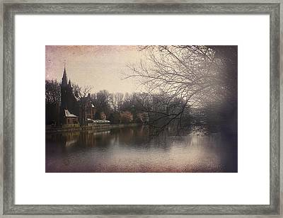 The Beauty Of Brugge Framed Print by Carol Japp