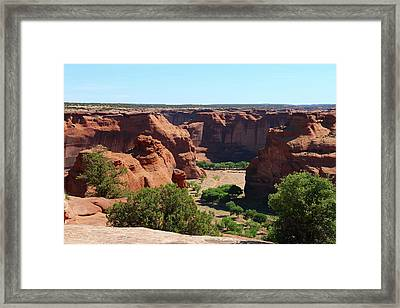 The Beauty Of Canyon De Chelly  Framed Print by Christiane Schulze Art And Photography
