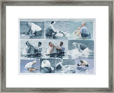 The Beauty Of Chance Framed Print by Perry Woodfin