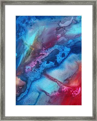 The Beauty Of Color 1 Framed Print by Megan Duncanson