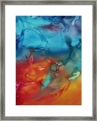 The Beauty Of Color 2 Framed Print by Megan Duncanson