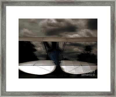 The Beauty Of Flight  Framed Print by Steven Digman