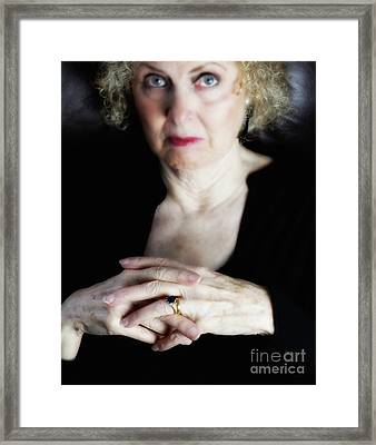 The Beauty Of Her Time  Framed Print by Steven Digman