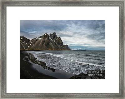 Framed Print featuring the photograph The Beauty Of Iceland by Sandra Bronstein