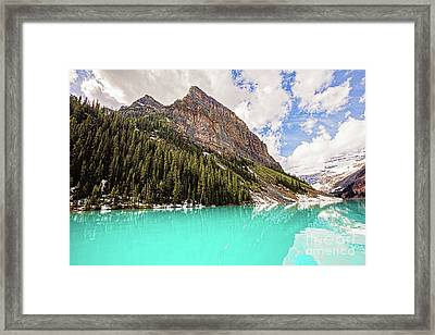The Beauty Of Lake Louise Framed Print