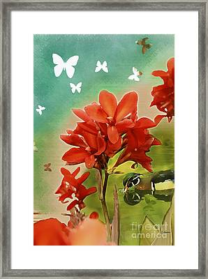 The Beauty Of Nature Framed Print by Claudia Ellis
