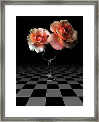 The Beauty Of Roses Framed Print