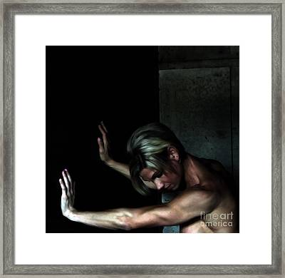 The Beauty Of Strength Framed Print by Steven Digman