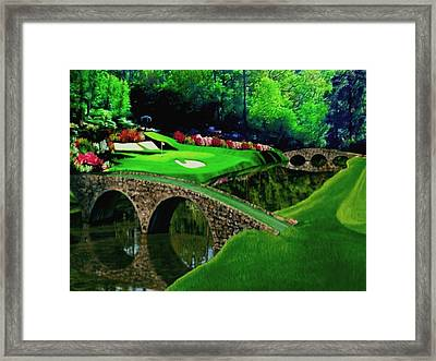 The Beauty Of The Masters Cropped Version Framed Print