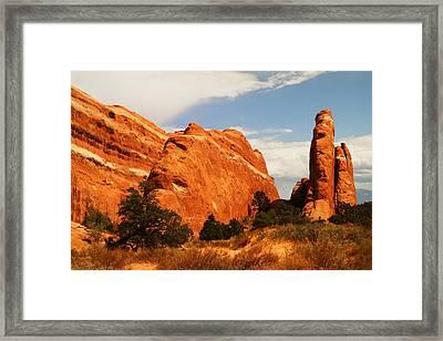 The Beauty Of Utah Framed Print