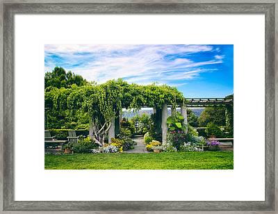 The Beauty Of Wave Hill Framed Print by Jessica Jenney