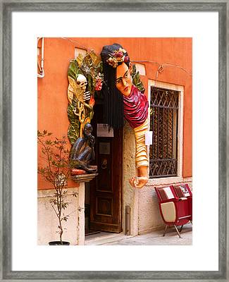 The Beauty Salon Framed Print