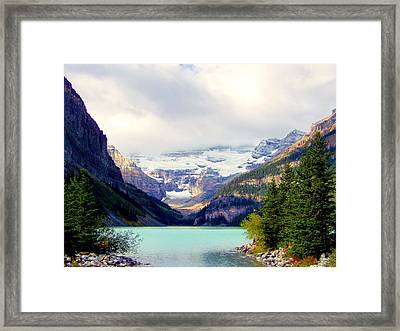 The Beauty Within Framed Print by Karen Wiles