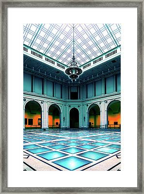 Framed Print featuring the photograph The Beaux-arts Court by Chris Lord