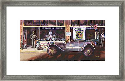 The Beaver Six Framed Print by Mike Hill
