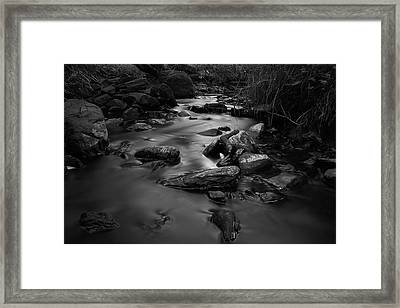 The Beck Framed Print
