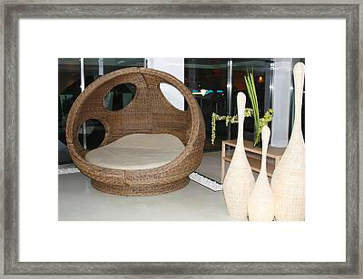 The Bed Framed Print by Paul SEQUENCE Ferguson             sequence dot net