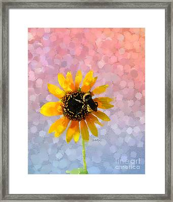 Framed Print featuring the photograph The Bee's Knees by Betty LaRue