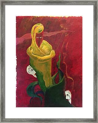 The Beggar Framed Print by Alejandro Lopez-Tasso