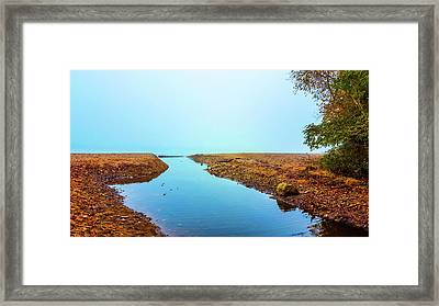 The Beginning Framed Print by Art Spectrum